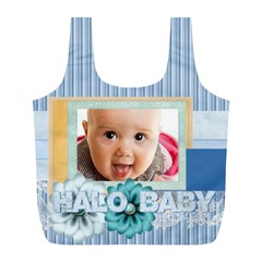 Baby By Joely   Full Print Recycle Bag (l)   23wov1fa5a0a   Www Artscow Com Back