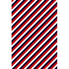 Diagonal Patriot Stripes Notebook by StuffOrSomething