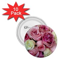 Tapestry Wedding Bouquet 1.75  Button (10 pack)  by Khoncepts