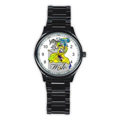 Faerie Wish Sport Metal Watch (black) by StuffOrSomething