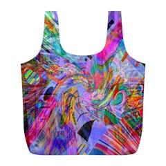 Multicolorbag By Jean Petree   Full Print Recycle Bag (l)   Bjsq7f39tmw8   Www Artscow Com Back