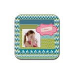 easter - Rubber Square Coaster (4 pack)