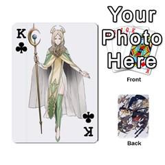 King Fire Emblem Awakening By Cheesedork   Playing Cards 54 Designs   Ksptlp4cqxxe   Www Artscow Com Front - ClubK