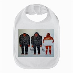 3 Bigfoot, H, A, S, On White, Bib by creationtruth