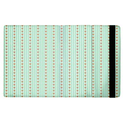 Hearts & Stripes Apple Ipad 3/4 Flip Case by StuffOrSomething