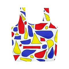 Silly Primaries Reusable Bag (m) by StuffOrSomething