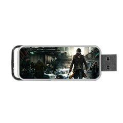 Watch Dogs (2 Side) Thumbdrive By Jasonwsc   Portable Usb Flash (two Sides)   G1bz2iljrajh   Www Artscow Com Front