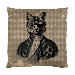 Harlequin Cat Cushion Case (two Sided)