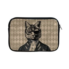 Harlequin Cat Apple Ipad Mini Zippered Sleeve by StuffOrSomething