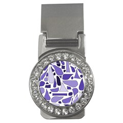 Silly Purples Money Clip (cz) by FunWithFibro