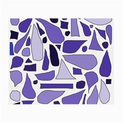 Silly Purples Glasses Cloth (small) by FunWithFibro