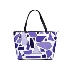 Silly Purples Large Shoulder Bag by FunWithFibro