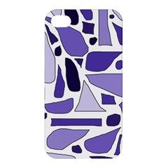 Silly Purples Apple Iphone 4/4s Hardshell Case by FunWithFibro