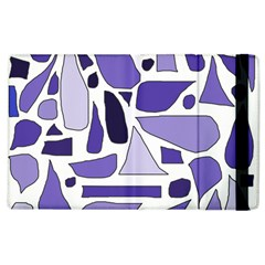 Silly Purples Apple iPad 2 Flip Case by FunWithFibro