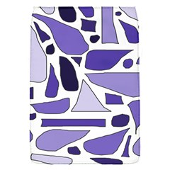 Silly Purples Removable Flap Cover (small) by FunWithFibro