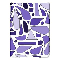 Silly Purples Apple Ipad Air Hardshell Case by FunWithFibro