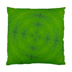 Go Green Kaleidoscope Cushion Case (two Sided)