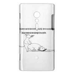 Better To Take Time To Think Sony Xperia ion Hardshell Case