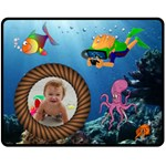 Under the Sea medium blanket #2 - Fleece Blanket (Medium)