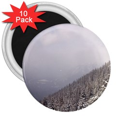 Banff 3  Button Magnet (10 Pack) by DmitrysTravels