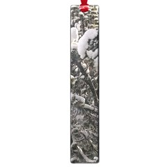 Snowy Trees Large Bookmark by DmitrysTravels