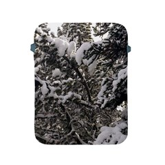 Snowy Trees Apple Ipad Protective Sleeve by DmitrysTravels