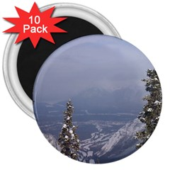 Trees 3  Button Magnet (10 Pack) by DmitrysTravels
