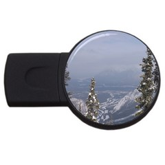 Trees 4gb Usb Flash Drive (round) by DmitrysTravels