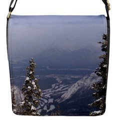 Trees Flap Closure Messenger Bag (small) by DmitrysTravels