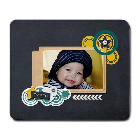 Mousepad: Boys 4 By Jennyl   Large Mousepad   Hngcx5grha6k   Www Artscow Com Front