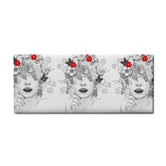 Flower Child Hand Towel by StuffOrSomething