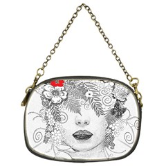 Flower Child Chain Purse (one Side) by StuffOrSomething