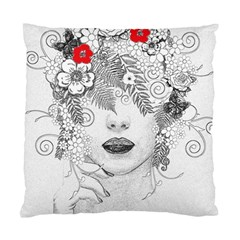 Flower Child Cushion Case (single Sided)  by StuffOrSomething