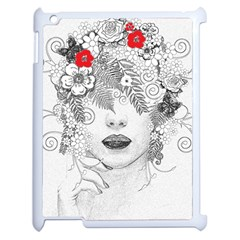 Flower Child Apple Ipad 2 Case (white) by StuffOrSomething