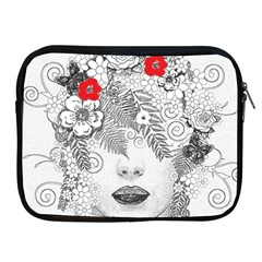 Flower Child Apple Ipad Zippered Sleeve by StuffOrSomething