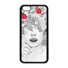 Flower Child Apple Iphone 5c Seamless Case (black) by StuffOrSomething