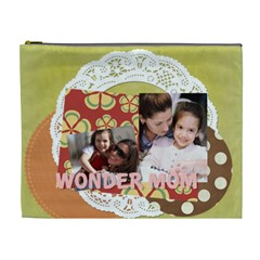 Mothers Day By Mom   Cosmetic Bag (xl)   Ov769wag1y3i   Www Artscow Com Front