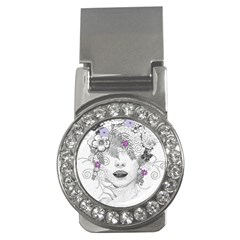 Flower Child Of Hope Money Clip (cz) by FunWithFibro
