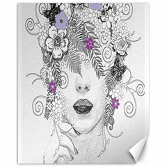 Flower Child Of Hope Canvas 16  X 20  (unframed) by FunWithFibro