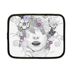 Flower Child Of Hope Netbook Sleeve (small) by FunWithFibro