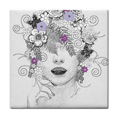 Flower Child Of Hope Face Towel by FunWithFibro