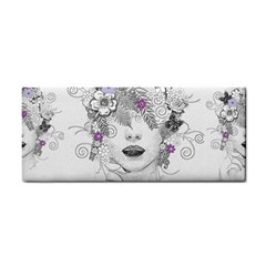 Flower Child Of Hope Hand Towel by FunWithFibro