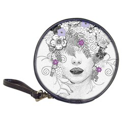 Flower Child Of Hope Cd Wallet by FunWithFibro