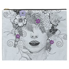 Flower Child Of Hope Cosmetic Bag (xxxl) by FunWithFibro
