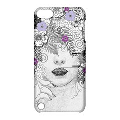 Flower Child Of Hope Apple Ipod Touch 5 Hardshell Case With Stand by FunWithFibro