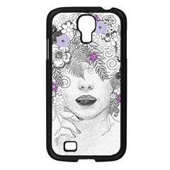 Flower Child Of Hope Samsung Galaxy S4 I9500/ I9505 Case (black) by FunWithFibro