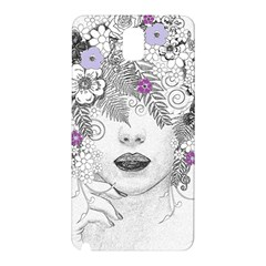Flower Child Of Hope Samsung Galaxy Note 3 N9005 Hardshell Back Case by FunWithFibro
