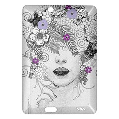 Flower Child Of Hope Kindle Fire Hd 7  (2nd Gen) Hardshell Case by FunWithFibro