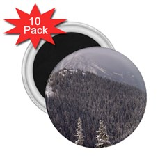 Mountains 2 25  Button Magnet (10 Pack) by DmitrysTravels