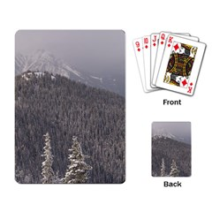 Mountains Playing Cards Single Design by DmitrysTravels